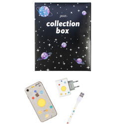 Kit Solar System (case + Apple cable + wallcharger + Space Travel Limited collection box)