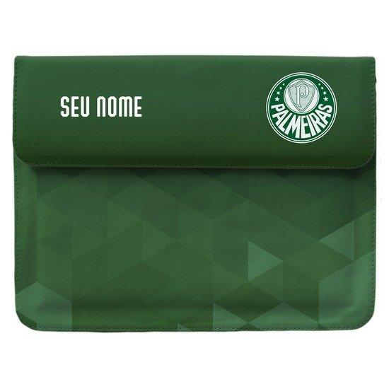 Capa Para Notebook - Palmeiras - Verde Personalizada