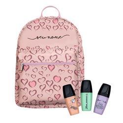 Mochila Gocase Bag Personalizada - Fancy Hearts Manuscrita