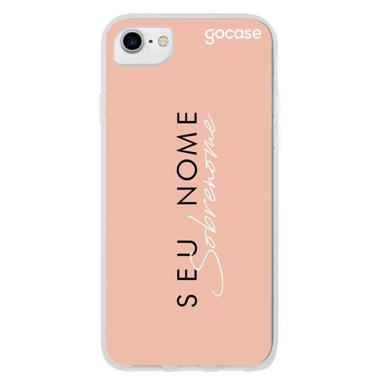 Capinha para celular Fashion Girl Coral