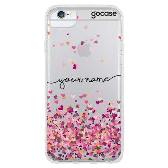 Hearts Handwritten Phone Case