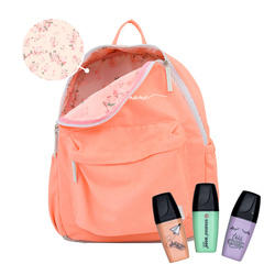 Mochila Gocase Color - Coral Manuscrita