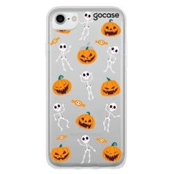 Skeletons and Pumpkins Phone Case