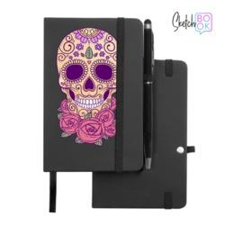 Sketchbook Black - Calavera