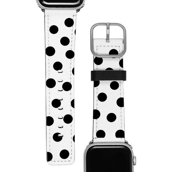Pulseira Apple Watch - Círculos Pretos