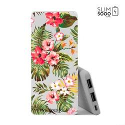 Power Bank Slim Portable Charger (5000mAh)  - Floral