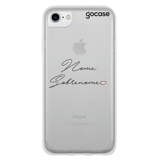 Capinha para celular Lovely Signature (Colorido)