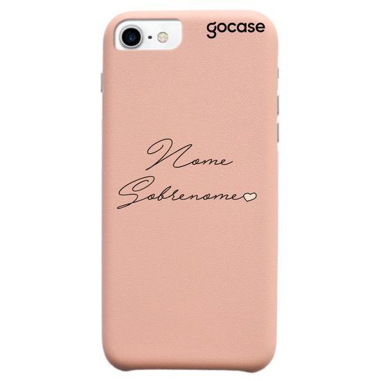 Capinha para celular Fascino - Lovely Signature (Colorido)
