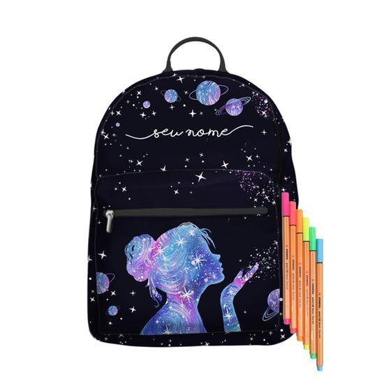 Mochila Gocase Bag Personalizada - Poeira das Estrelas Manuscrita