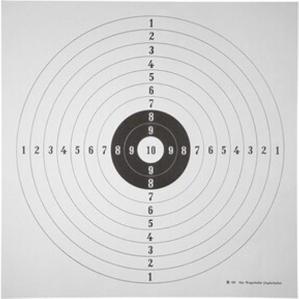 Ringscheibe Für Jägerprüfung 1