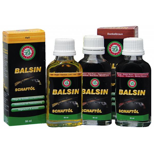 Ballistol Balsin Schaft-Öl - Farbe rotbraun. 2