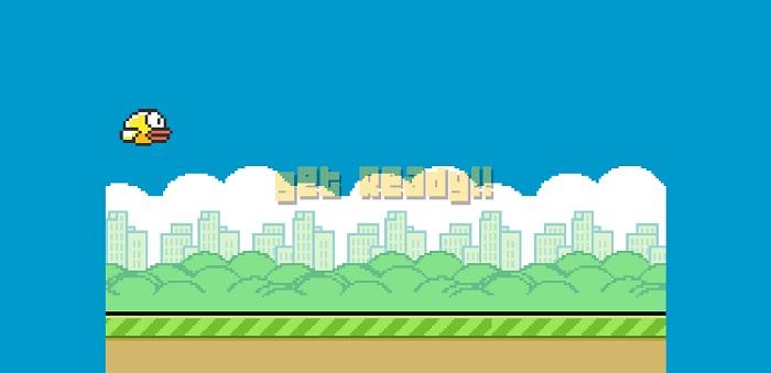 Clumsy Bird Game Snapshot.