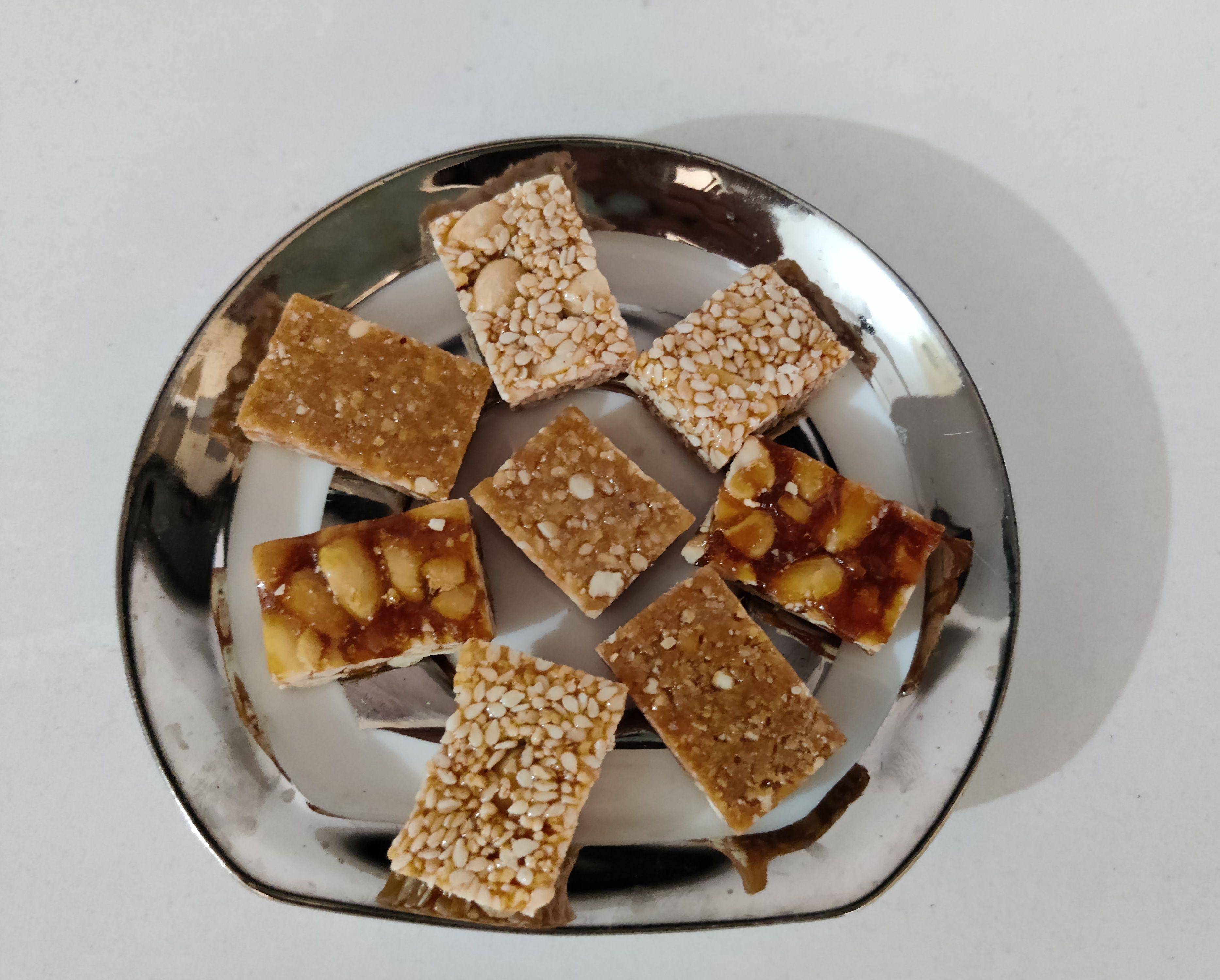 Gajak cubes multi gajak mix cubes 250 gm