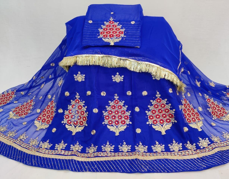 Rajputi dress rajputi poshak half pure with astar magji  code 5
