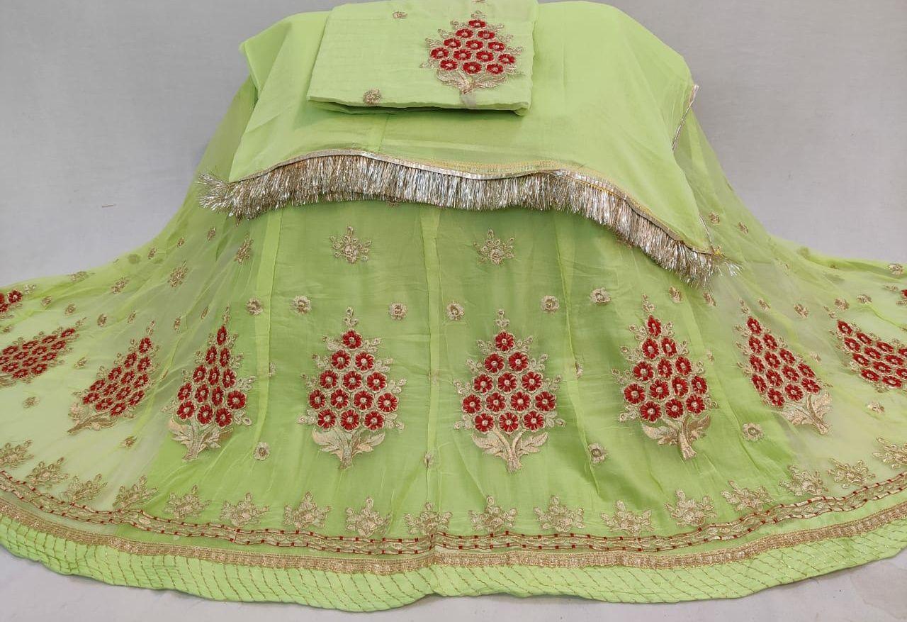 Rajputi dress rajputi poshak half pure with astar magji  code 6