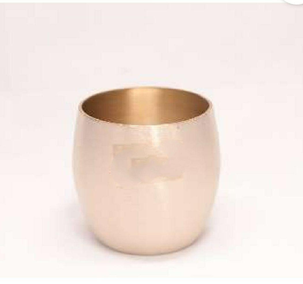 Bronze glass bronze tumbler U shape kanse ka glass