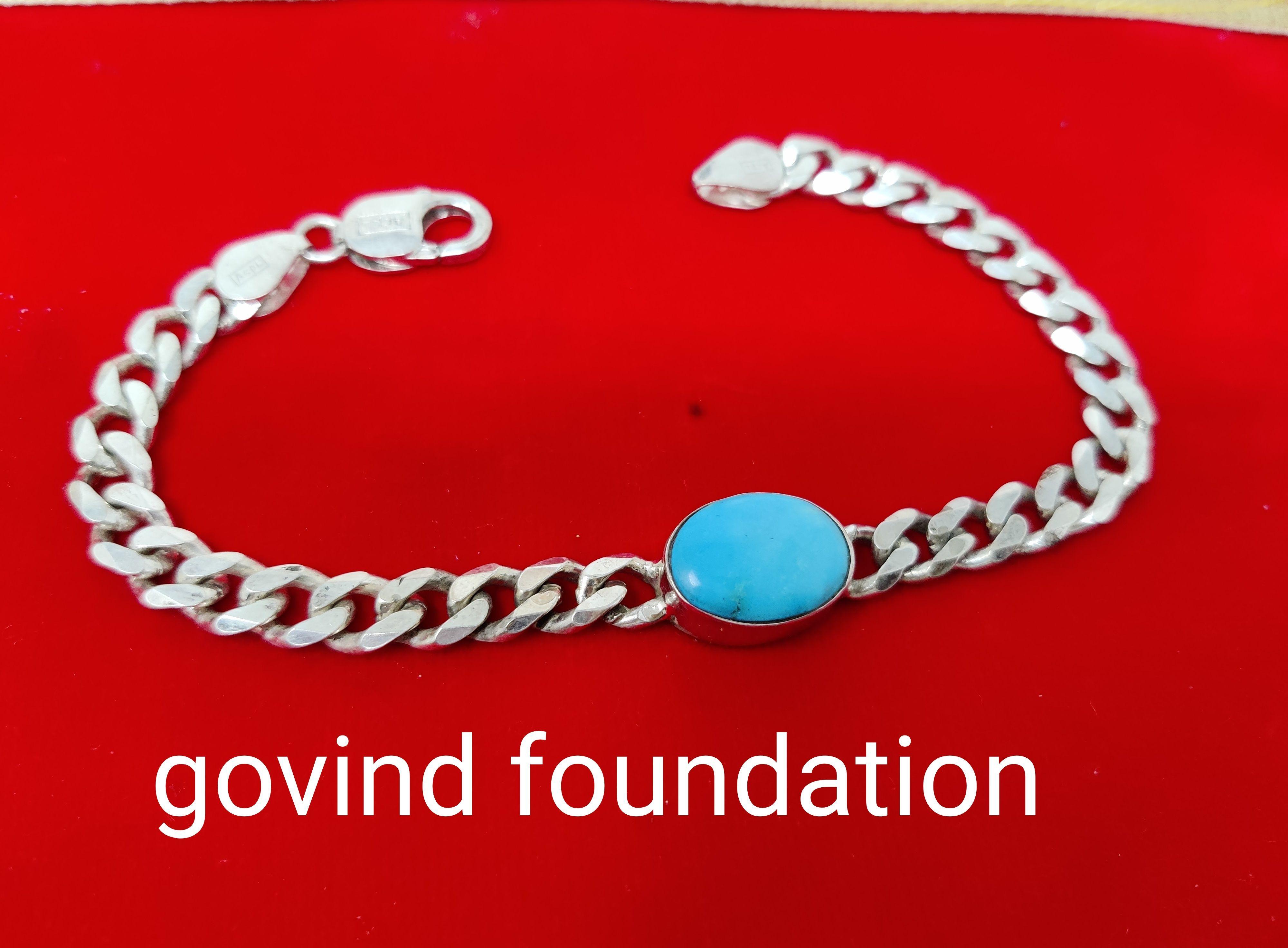 Firoja bracelet firoza silver bracelet firoja 20 carrot silver chain bracelet turquoise silver bracelet