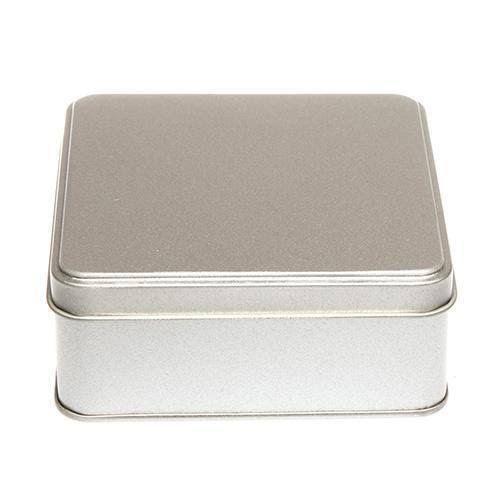 Silver square box pure silver square shape box 1.5×1.5 inches