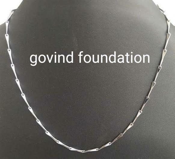 Silver chain pure silver chain Padmini design