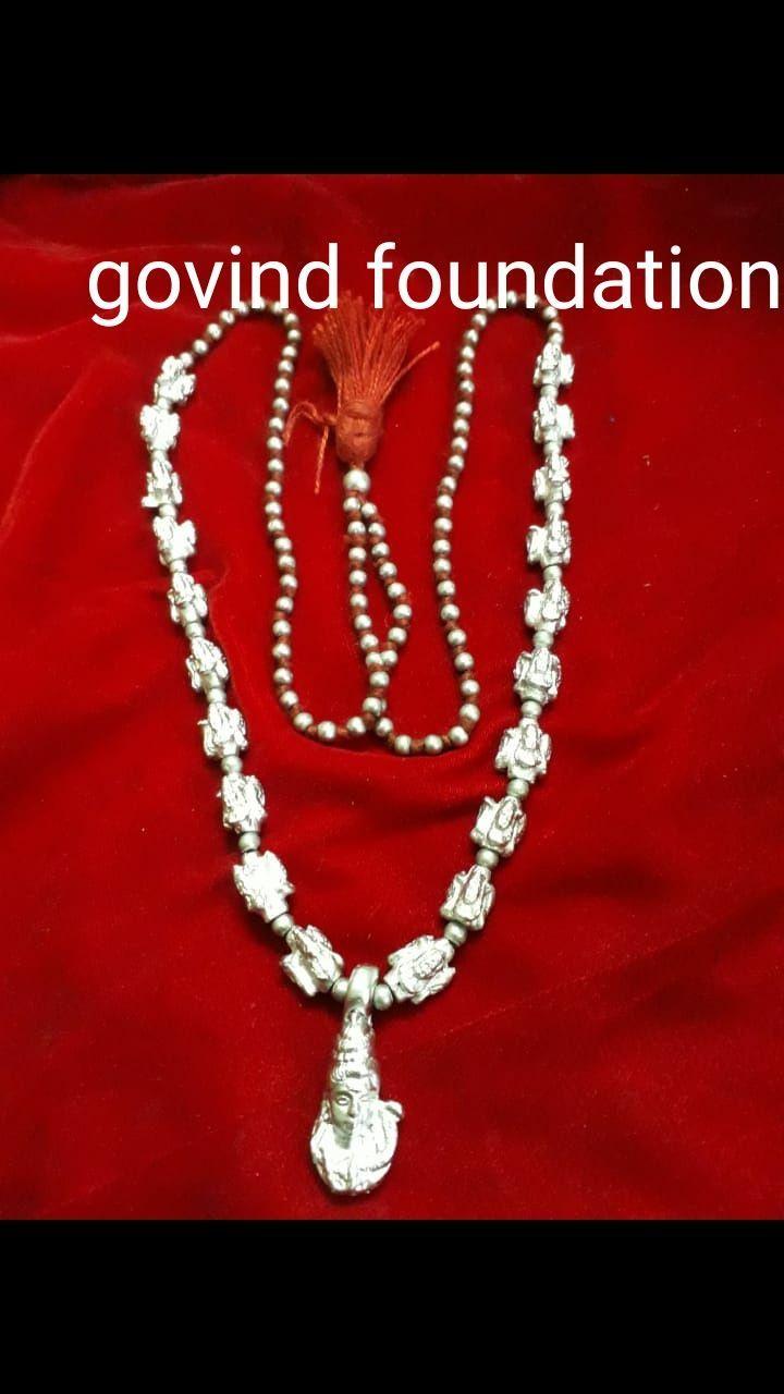 Parad Shiv mala Shiv image parad mala 108 beads