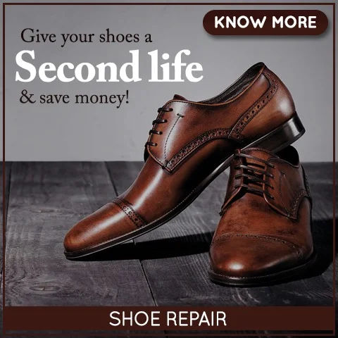Shoe cleaning & Shoe repair