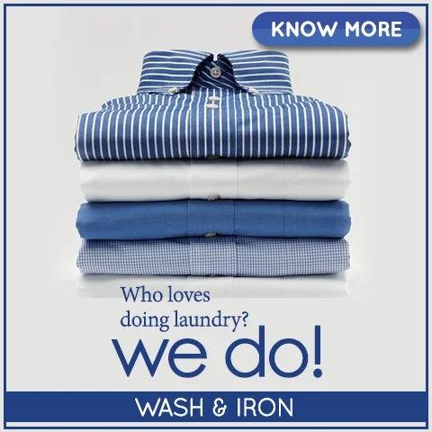 wash & iron