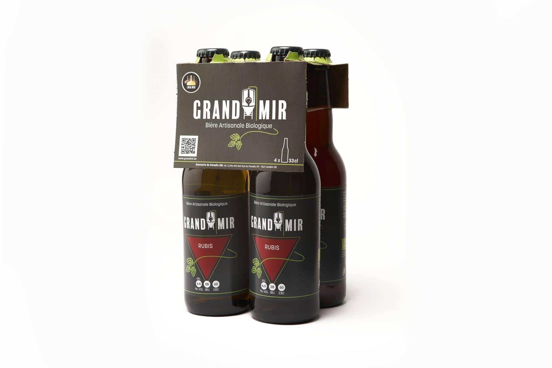 Pack de bières bouteilles GrandMir