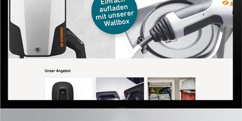 Neuer Online-Shop für E-Mobility startet bei STAWAG