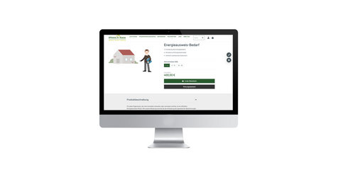 Online-Shop bei Effizienz:Klasse gestartet