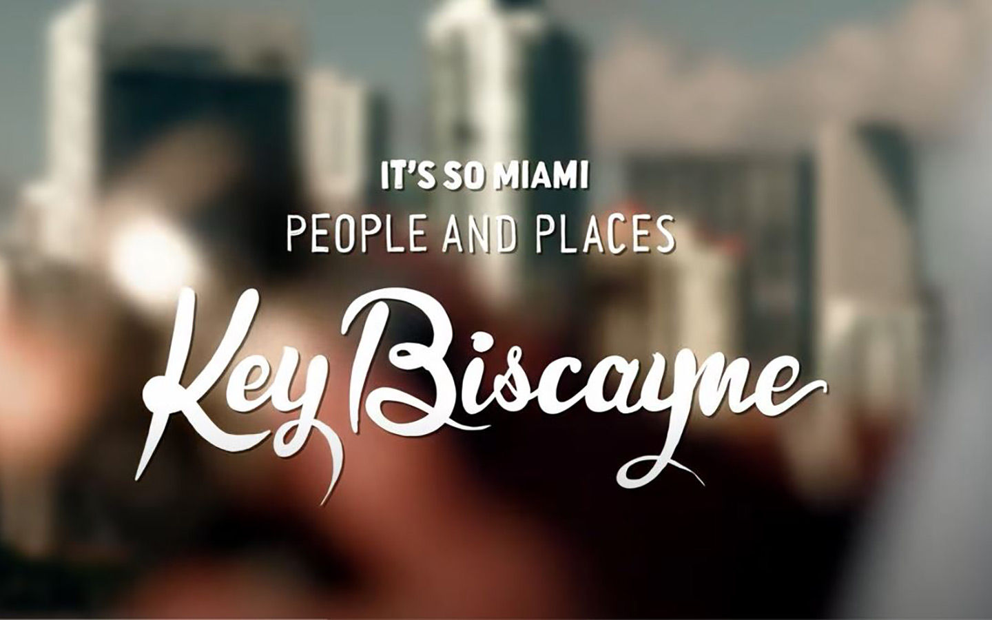 Es tan miami: Key Biscayne