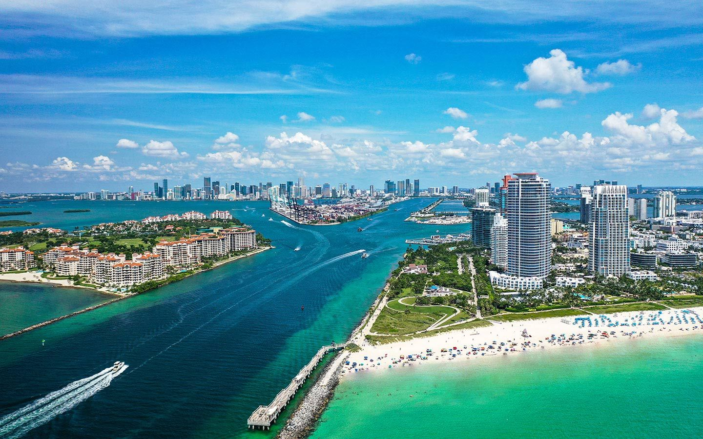 Experience Miami from the Sky