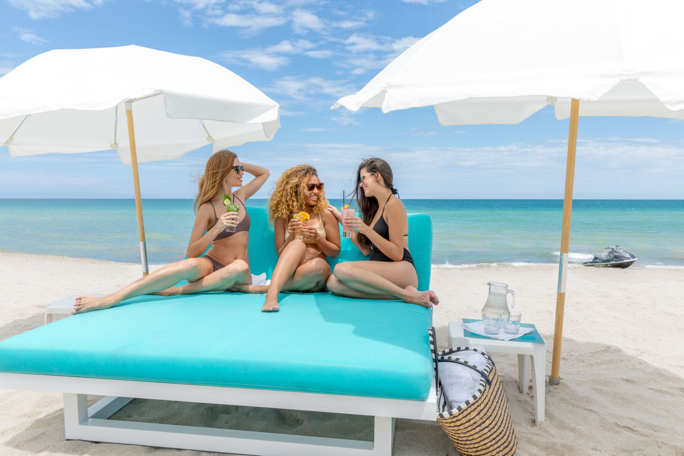 Girls Getaway - Jetskis and Daybeds at Trump International Beach Resort