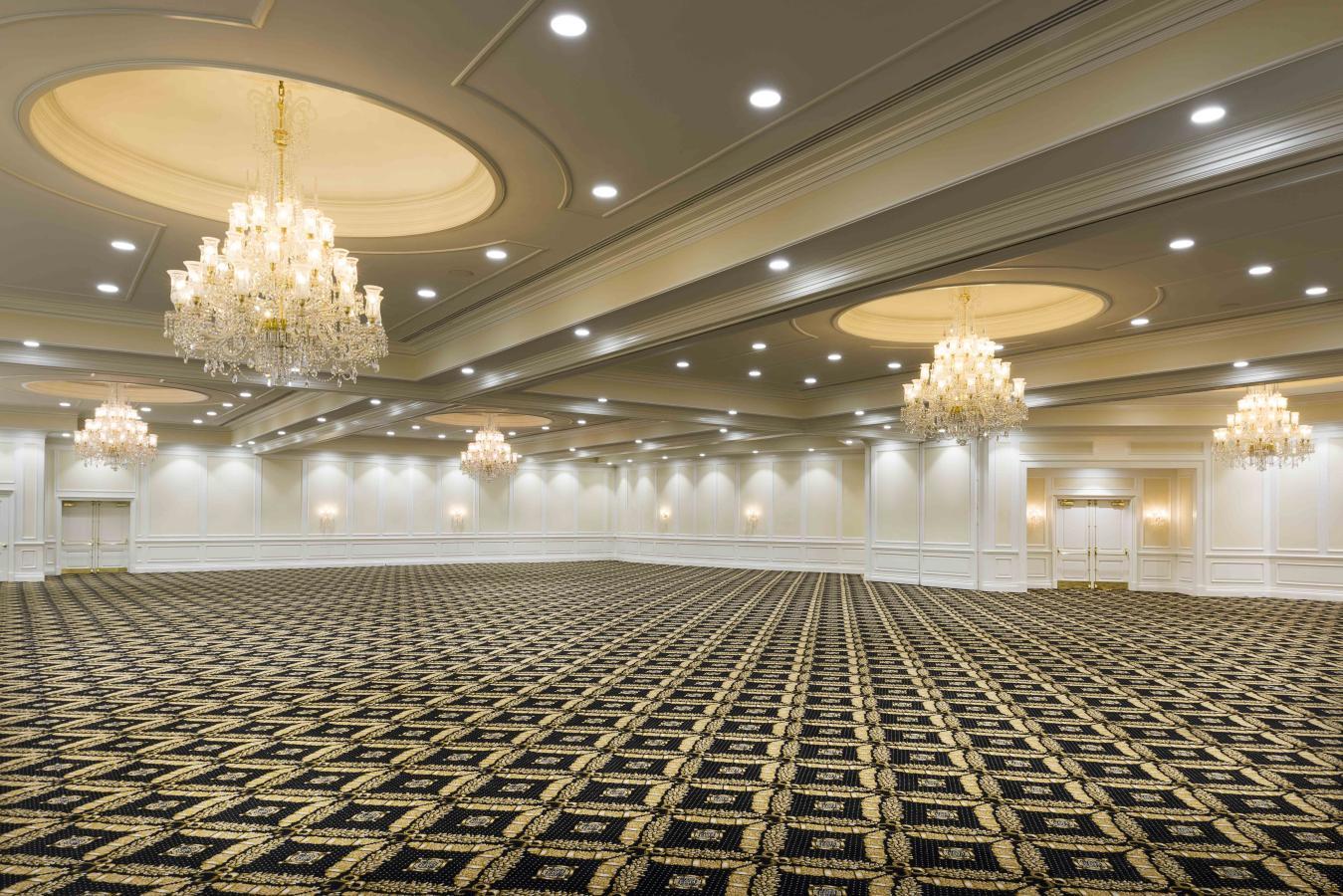 White & Gold Ballroom