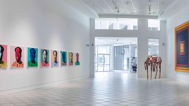 Tobin Reinstall at Lowe Art Museum