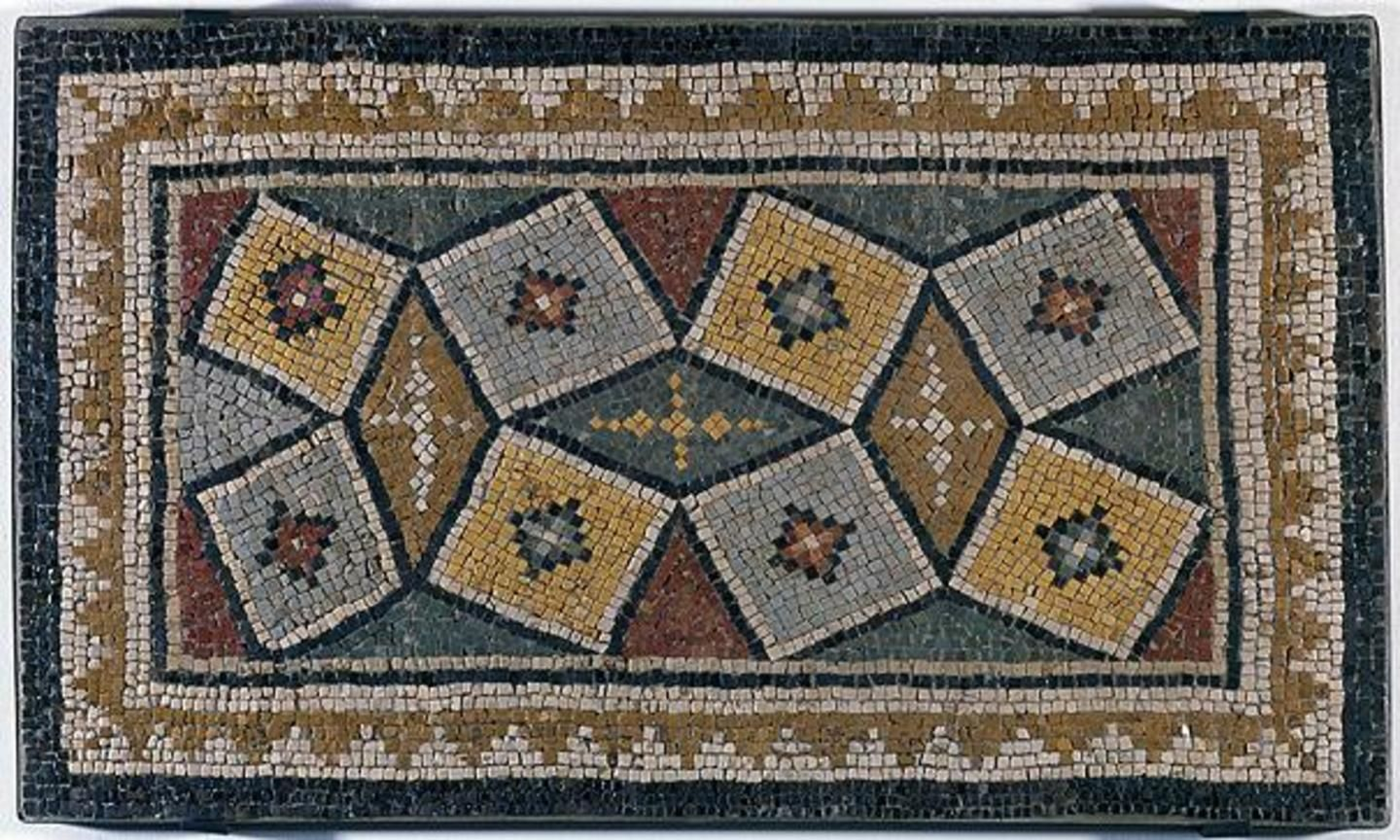 Roman Empire, Mosaic Panel, 1st to 2nd Century, Stone, Museum Purchase through funds from Beaux Arts