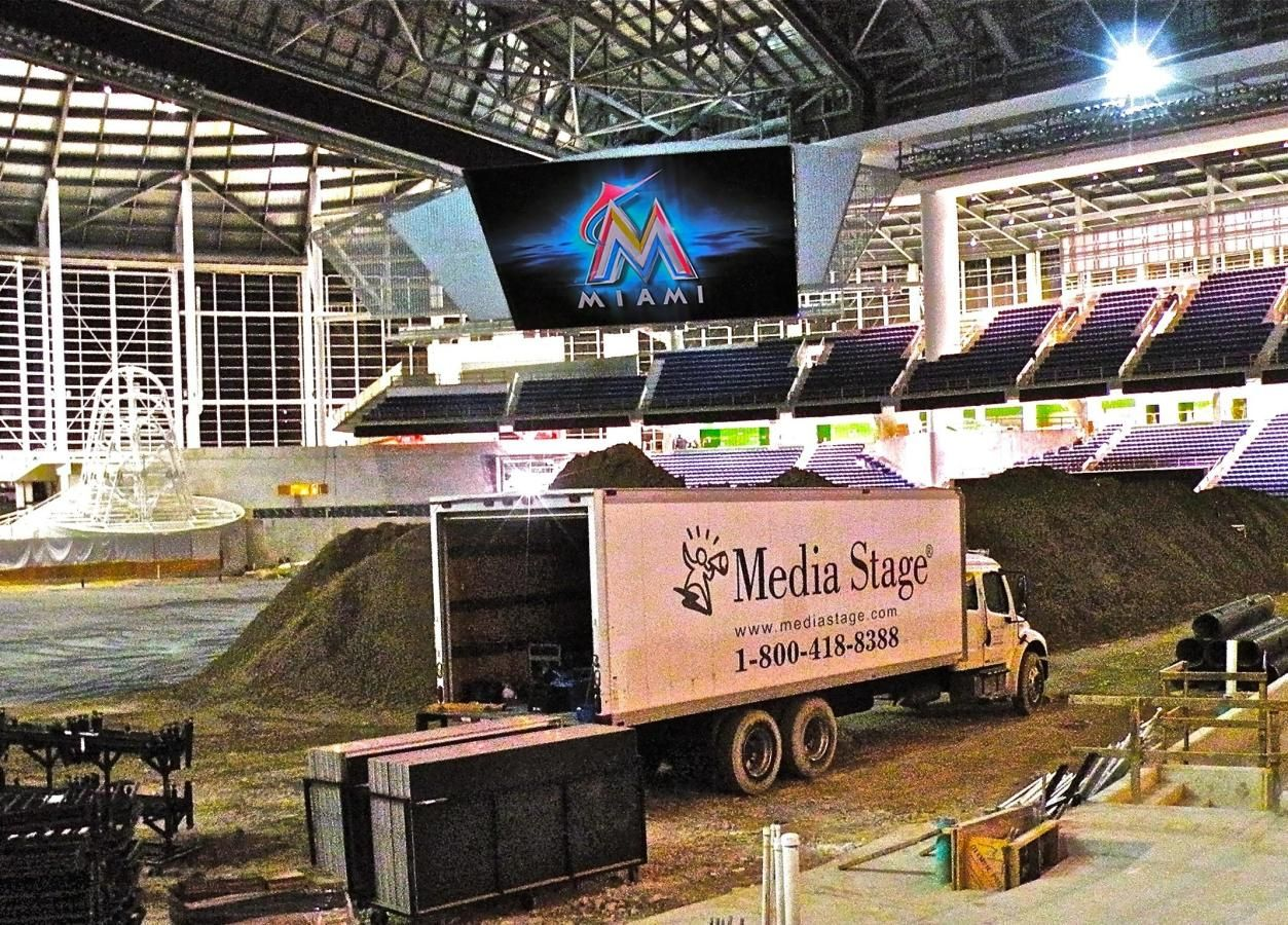 Media Stage, Miami's Audio Visual Staging & Production Firm...