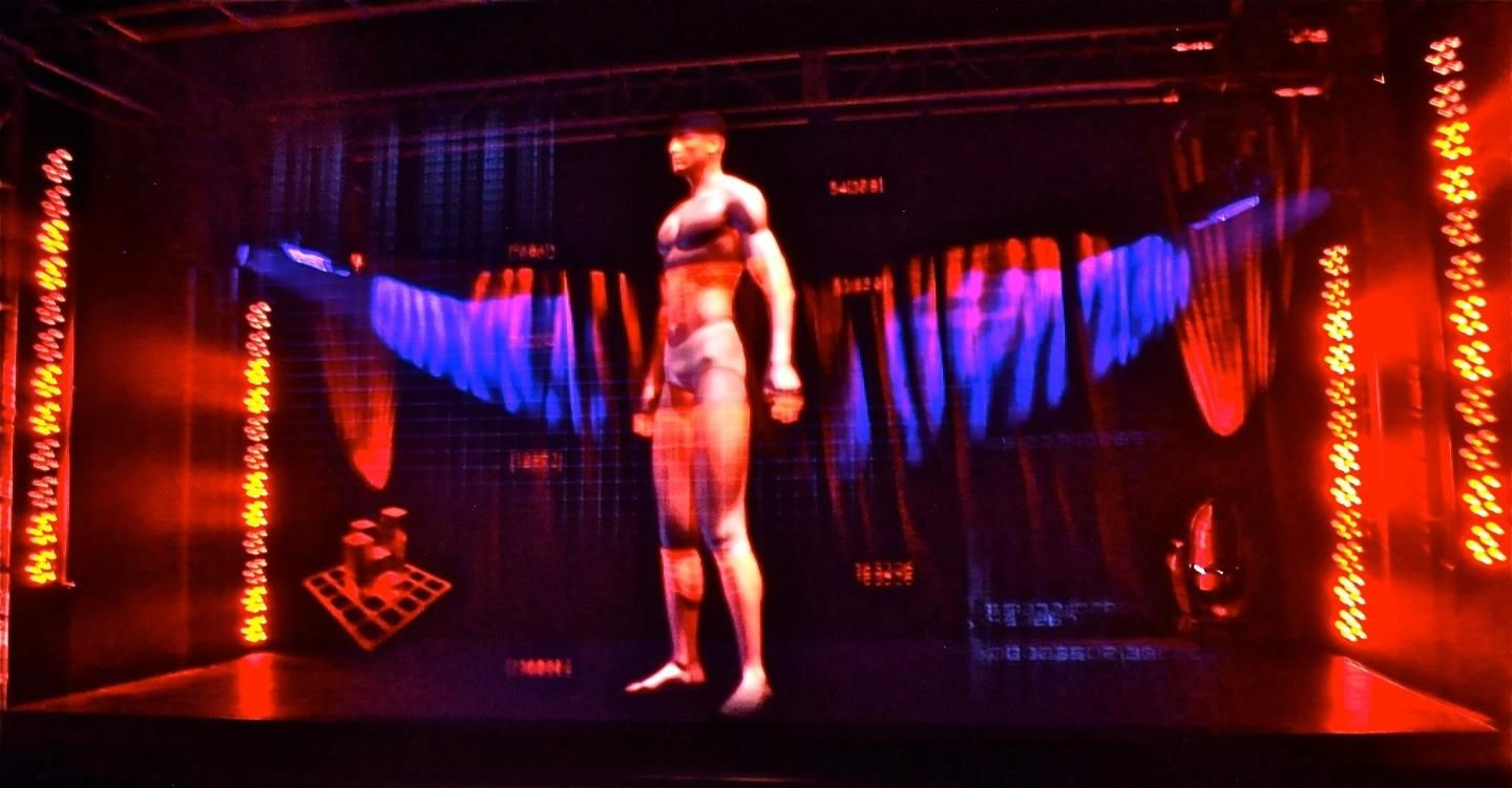 Holographic Staging is the most advanced video technology on the market. Here your audience gasp, fo