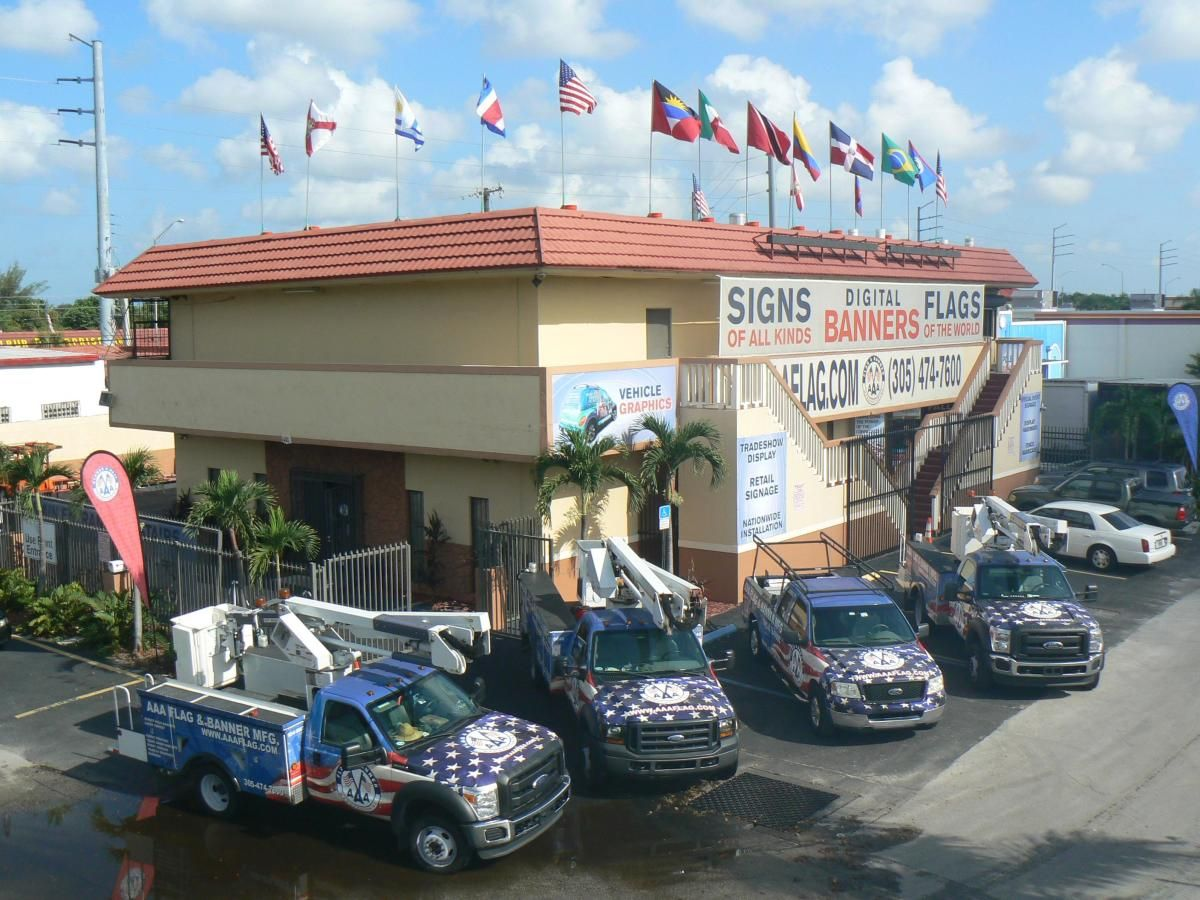 AAA Flag & Banner Office in Miami