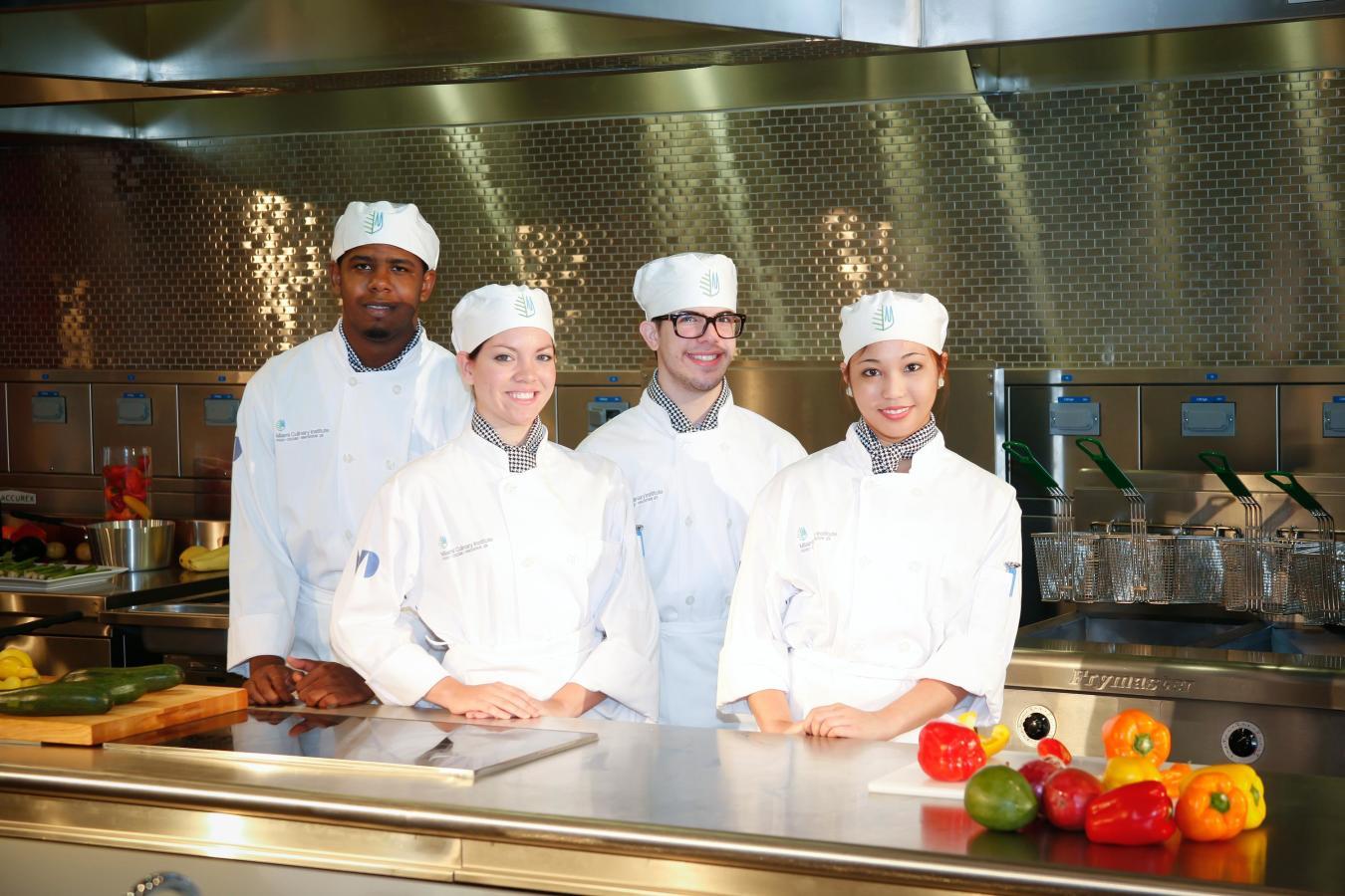 Etudiants du programme d'arts culinaires