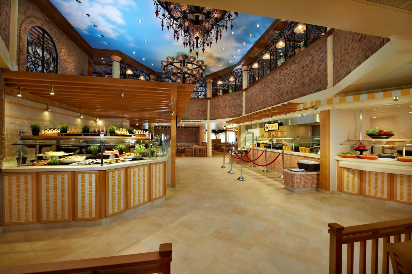 Carnival Breeze Lido Marketplace