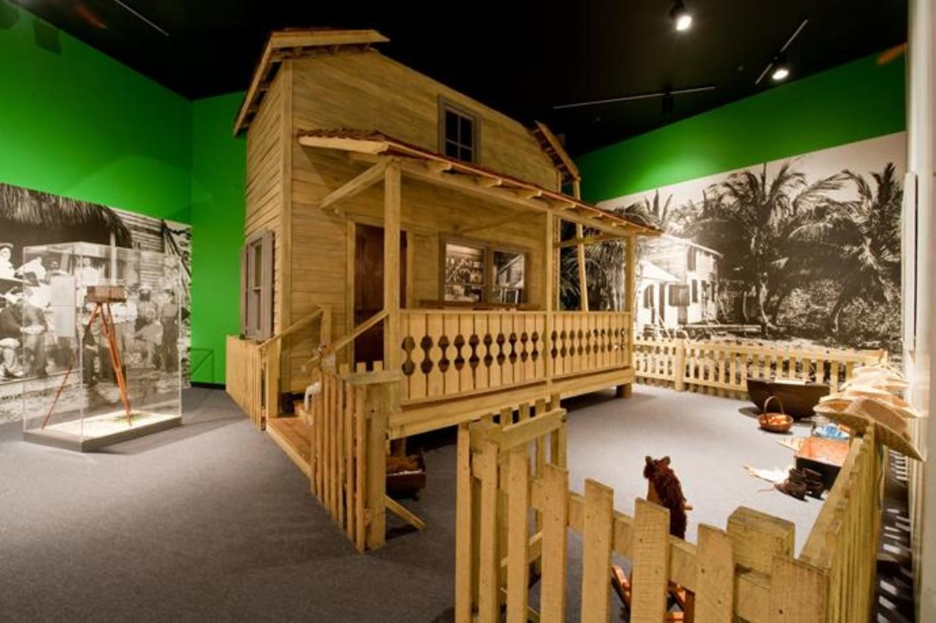 Pioneer House, Tropical Dreams: A People's History of South Florida permanent exhibition