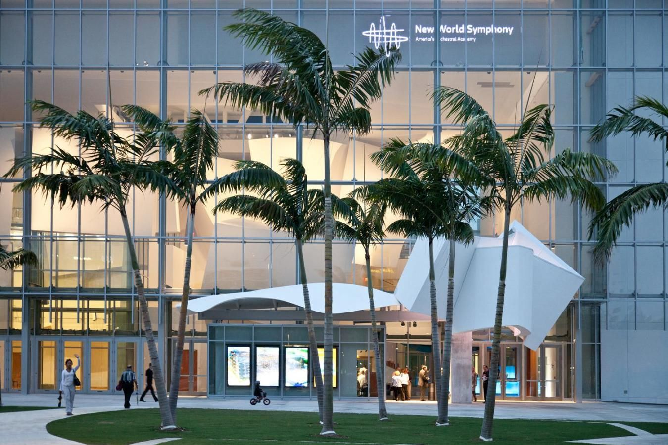 New World Center e Miami Beach SoundScape - foto de Robin Hill
