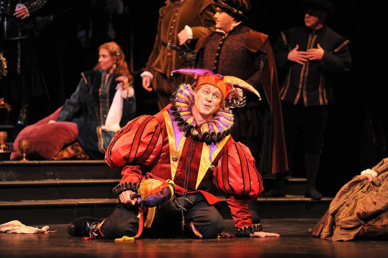 Mark Walters in Florida Grand Opera's Rigoletto 2012
