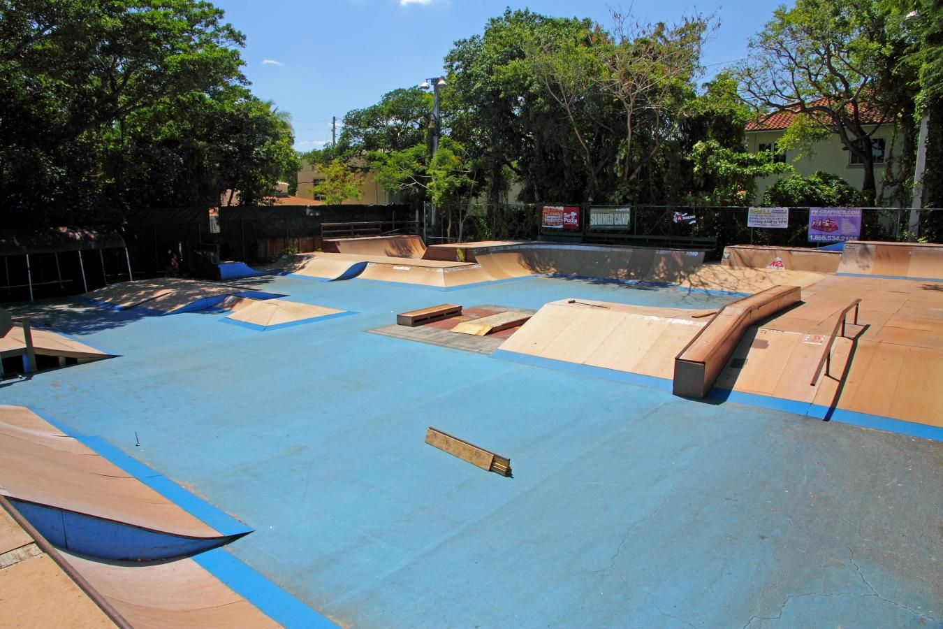 Peacock Park bike, board and skate park