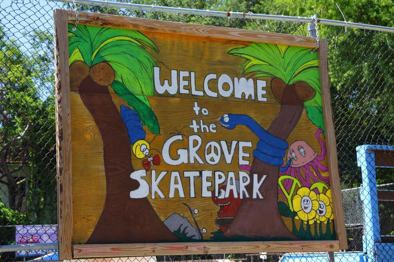 Peacock Park Grove skatepark