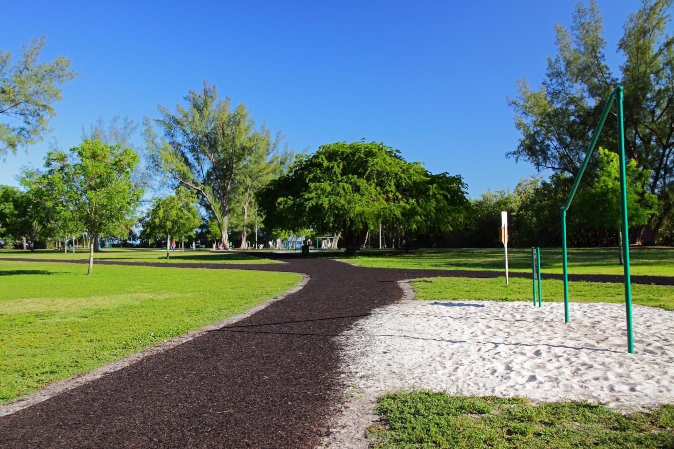David T. Kennedy Park jogging path