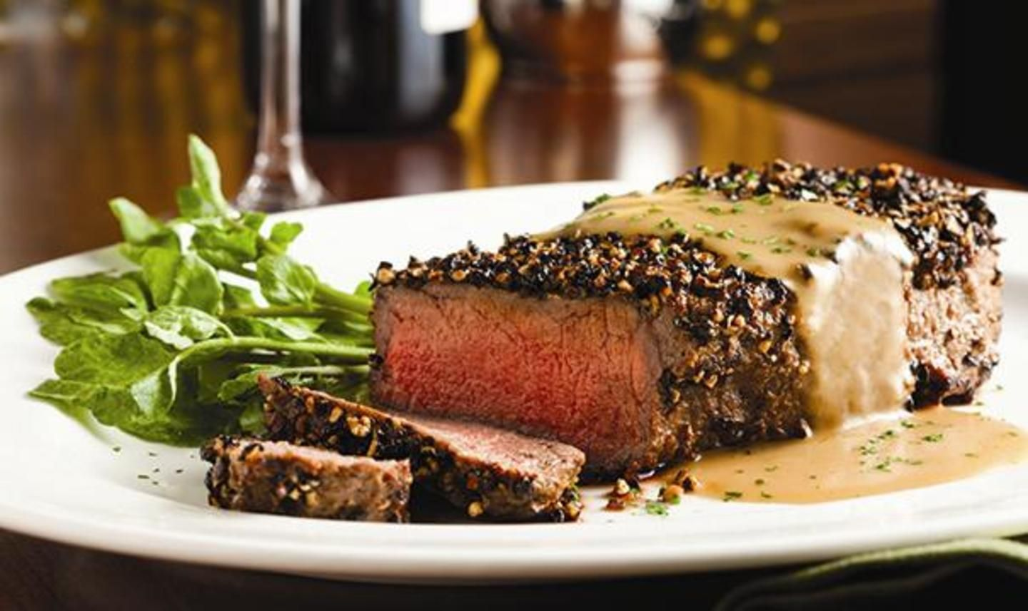The Capital Grille Steak Au Poivre