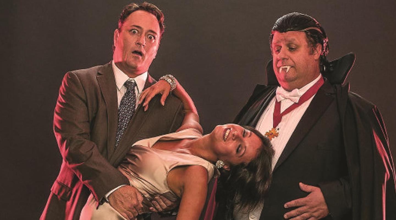 Todd Allen Durkin, Vera Varlamov et Ken Clement dans Bite Me Summer Shorts 2013 ( City Theatre , Miami)