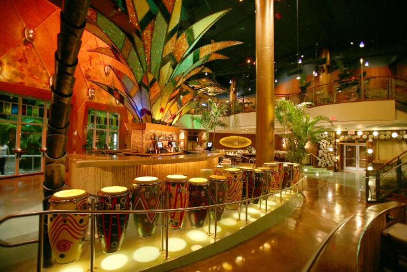 Bongos Cuban Cafe Bar Area