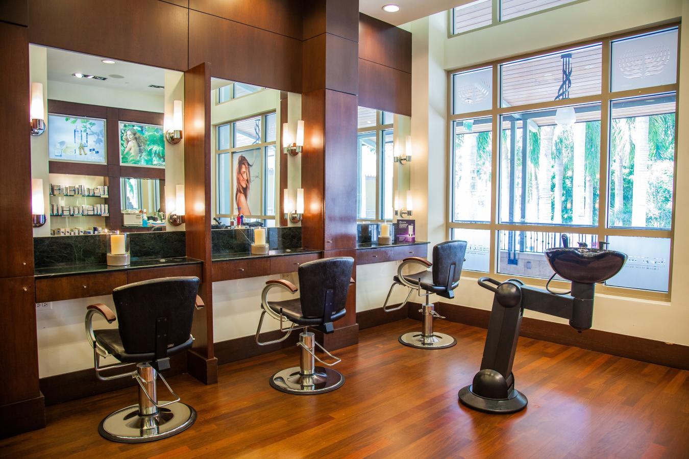 Salon at Elemis Day Spa, Merrick Park.